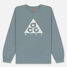 Мужской лонгслив Nike ACG LS Logo Aviator Grey/Summit White фото- 0