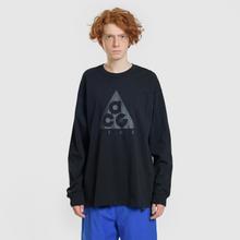 Мужской лонгслив Nike ACG LS Logo Black/Anthracite фото- 1