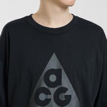 Мужской лонгслив Nike ACG LS Logo Black/Anthracite фото- 2