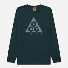 Мужской лонгслив Nike ACG LS Logo Deep Jungle/Aviator Grey фото- 0
