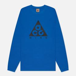 Мужской лонгслив Nike ACG LS Logo Imperial Blue/Black