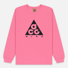 Мужской лонгслив Nike ACG LS Logo Lotus Pink/Black фото- 0