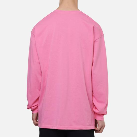 Мужской лонгслив Nike ACG LS Logo Lotus Pink/Black