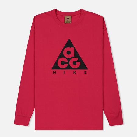 Мужской лонгслив Nike ACG LS Logo Rush Pink/Black