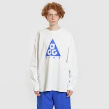 Мужской лонгслив Nike ACG LS Logo Summit White/Racer Blue фото- 1