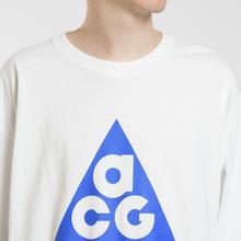 Мужской лонгслив Nike ACG LS Logo Summit White/Racer Blue фото- 2