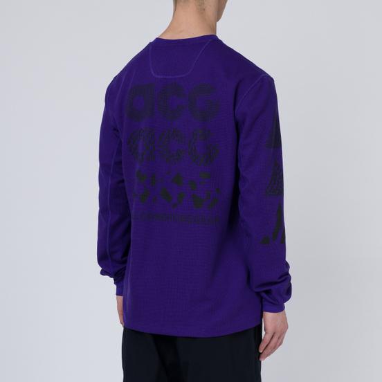 Мужской лонгслив Nike ACG NRG Waffle Court Purple
