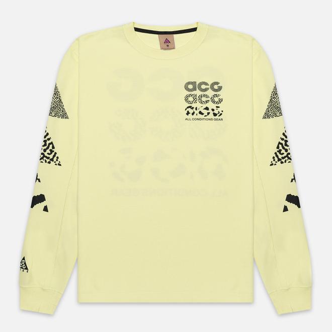 Мужской лонгслив Nike ACG NRG Waffle Luminous Green