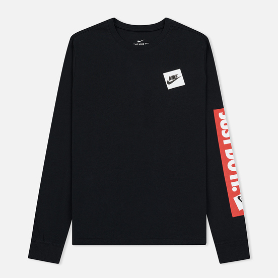 Мужской лонгслив Nike Just Do It Black