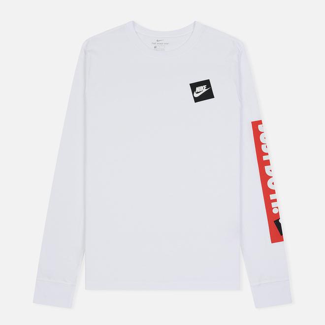 Мужской лонгслив Nike Just Do It White