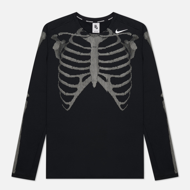 Мужской лонгслив Nike NRG Skeleton Black