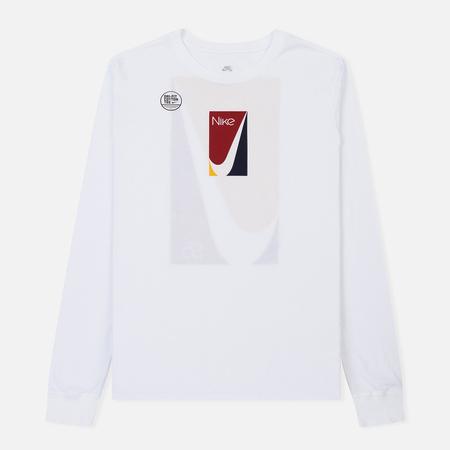 Мужской лонгслив Nike SB Color Block White