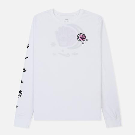 Мужской лонгслив Nike SB Dry DFC Moon White/White/Black