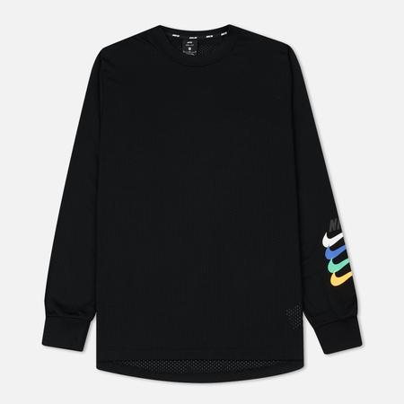 Мужской лонгслив Nike SB Dry Top GFX LS Black