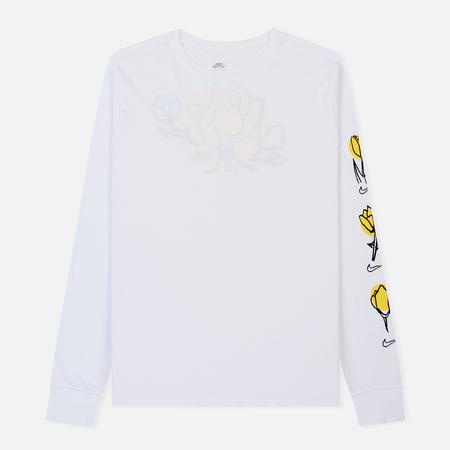 Мужской лонгслив Nike SB Graphic Roses White/Black