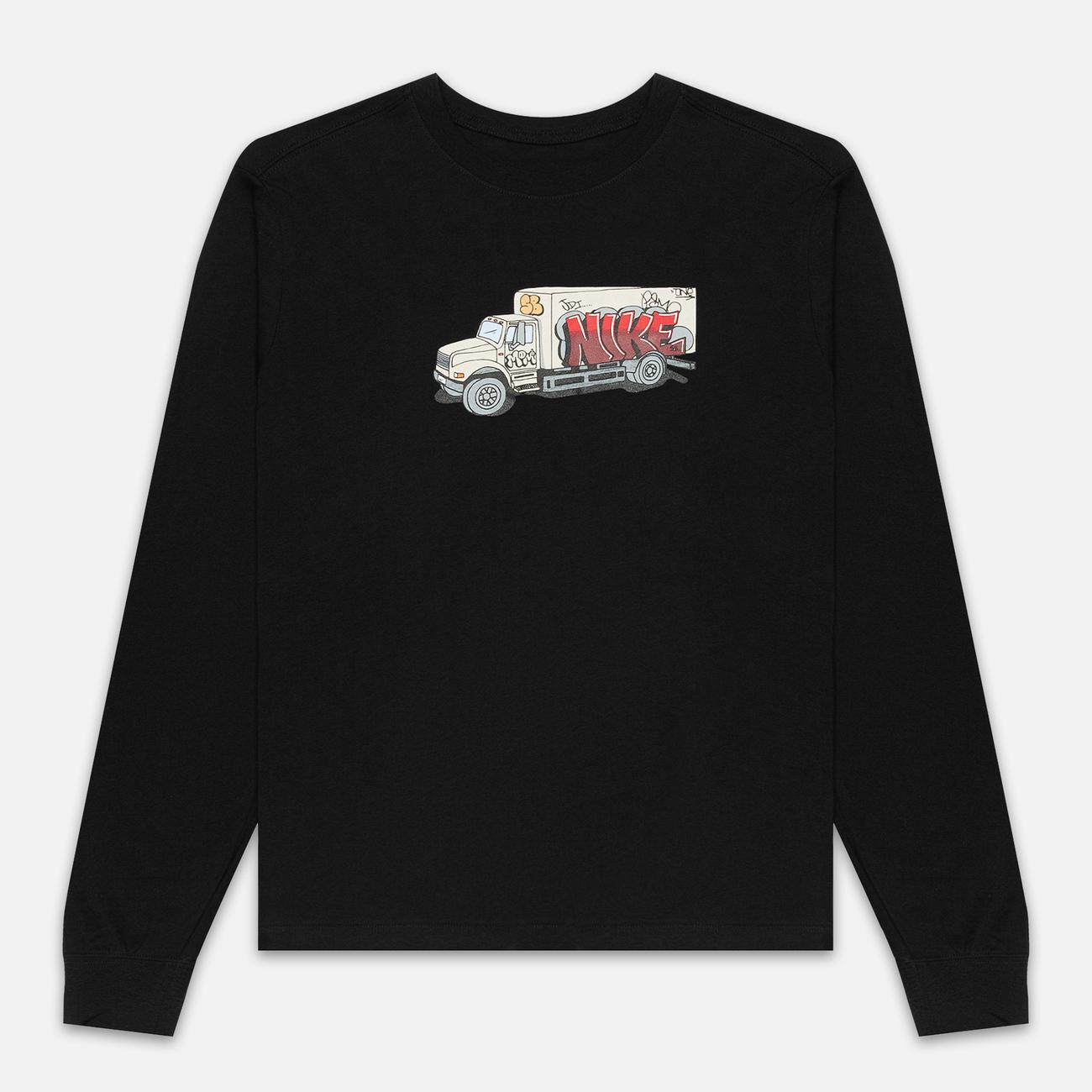 Мужской лонгслив Nike SB LS Box Truck Black