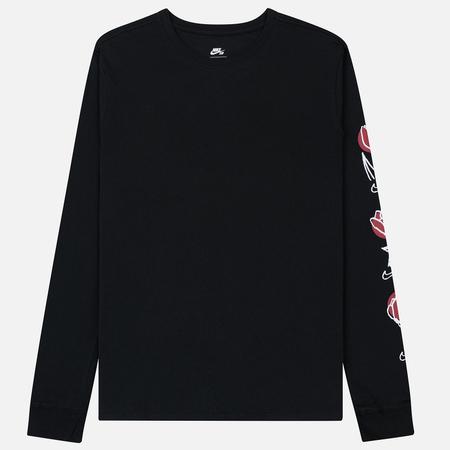 Мужской лонгслив Nike SB Roses Black/White
