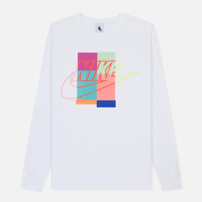 Мужской лонгслив Nike x atmos NRG LS White
