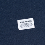 Мужской лонгслив Norse Projects Aske Perforated LS Navy фото- 3