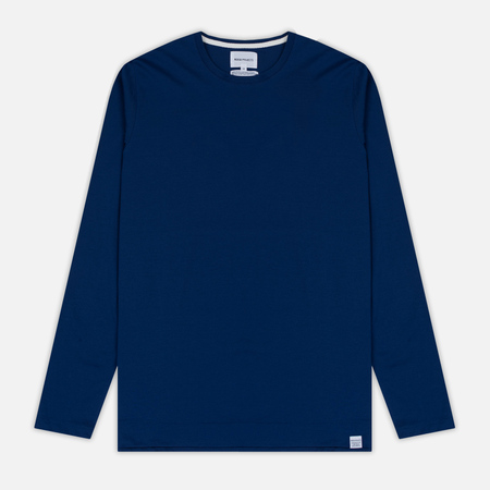 Мужской лонгслив Norse Projects Esben Blind Stitch LS Compound Blue