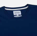 Мужской лонгслив Norse Projects Esben Blind Stitch LS Compound Blue фото- 1