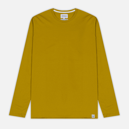 Мужской лонгслив Norse Projects Esben Blind Stitch LS Edge Yellow