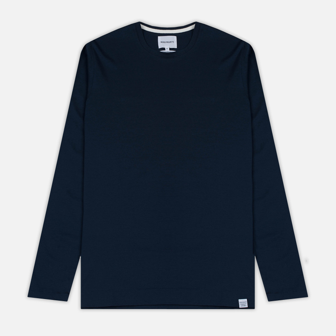 Мужской лонгслив Norse Projects Esben Blind Stitch LS Navy