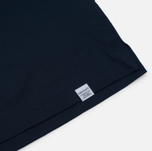 Мужской лонгслив Norse Projects Esben Blind Stitch LS Navy фото- 3