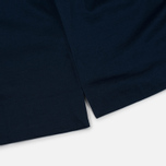 Мужской лонгслив Norse Projects Esben Blind Stitch LS Navy фото- 4