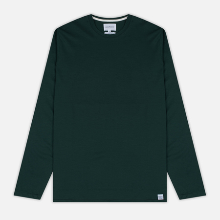 Мужской лонгслив Norse Projects Esben Blind Stitch LS Verge Green