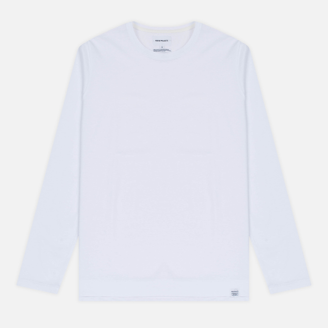 Мужской лонгслив Norse Projects Esben Blind Stitch LS White