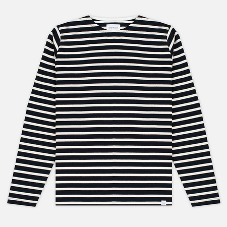 Мужской лонгслив Norse Projects Godtfred Classic Compact Navy/Ecru