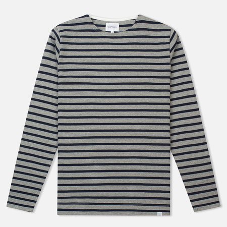 Norse Projects Godtfred Compact Men's Longsleeve Navy