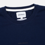 Мужской лонгслив Norse Projects James Dry Cotton LS Principle Blue фото- 1