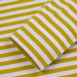 Мужской лонгслив Norse Projects James Logo Stripe LS White/Edge Yellow фото- 3