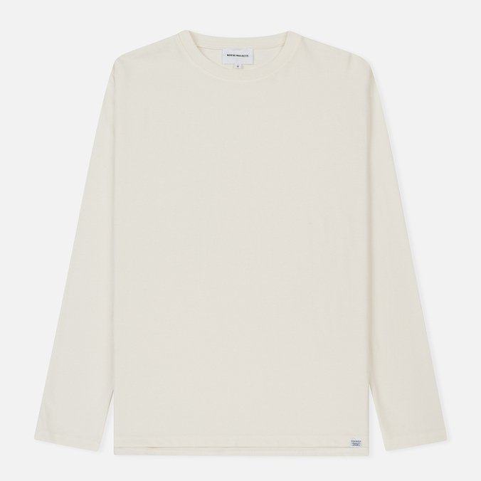 Мужской лонгслив Norse Projects Johannes Organic Kit White