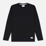 Мужской лонгслив Norse Projects Niels Basic Black фото- 0
