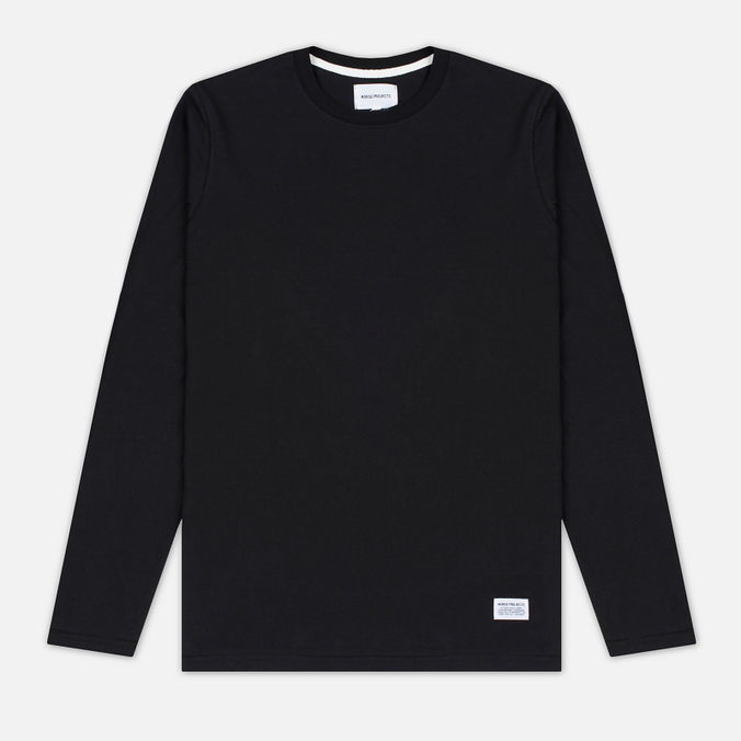 Norse Projects Niels Basic Men's Longsleeve Black