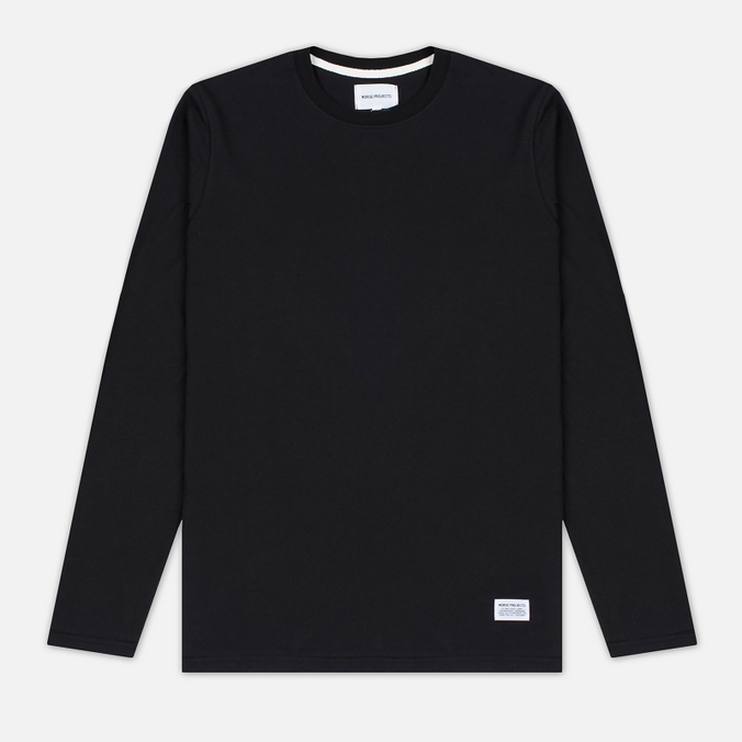 Мужской лонгслив Norse Projects Niels Basic Black