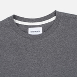 Мужской лонгслив Norse Projects Niels Basic Charcoal Melange фото- 1
