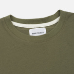 Мужской лонгслив Norse Projects Niels Basic Dried Olive фото- 1