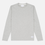 Мужской лонгслив Norse Projects Niels Basic Light Grey Melange фото- 0