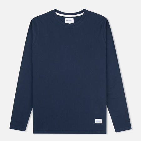 Мужской лонгслив Norse Projects Niels Basic Navy