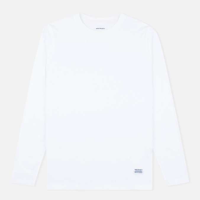 Мужской лонгслив Norse Projects Niels Basic White