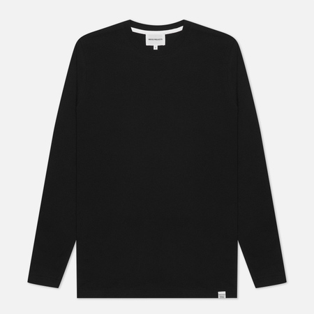 Мужской лонгслив Norse Projects Niels Standard Black