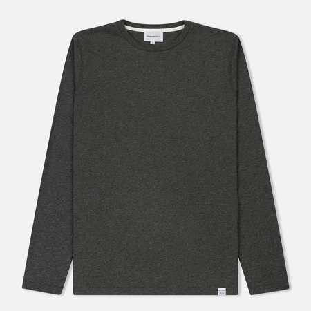 Мужской лонгслив Norse Projects Niels Standard Charcoal Melange