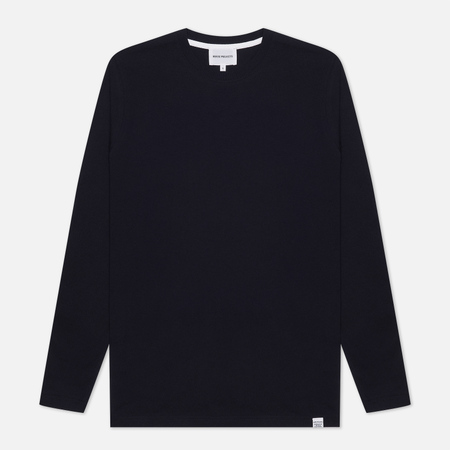 Мужской лонгслив Norse Projects Niels Standard Dark Navy