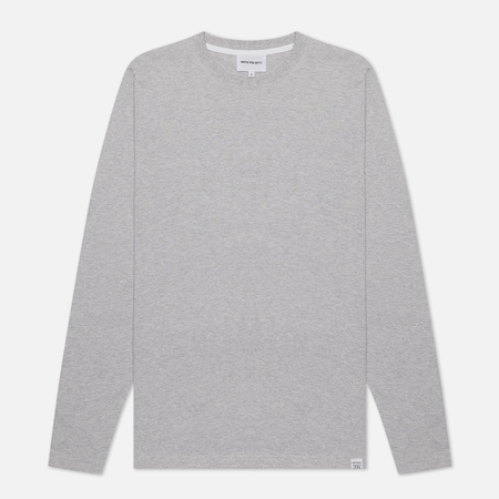 Мужской лонгслив Norse Projects Niels Standard Light Grey Melange