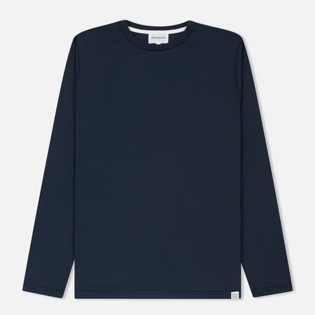Мужской лонгслив Norse Projects Niels Standard Navy