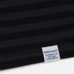 Мужской лонгслив Norse Projects Svali Military Stripe Black/Charcoal фото- 3